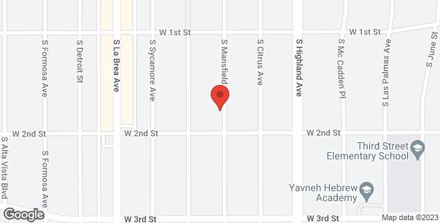 165 167 S Mansfield Los Angeles CA 90036