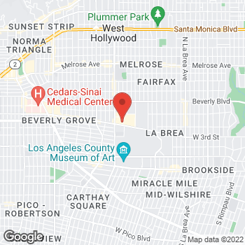 Map of Buca di Beppo Italian Restaurant at 6333 W 3rd St, Los Angeles, CA 90036