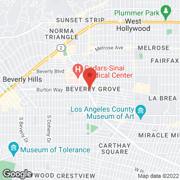Map of Sprint at 364 S La Cienega Blvd, West Hollywood, CA 90048