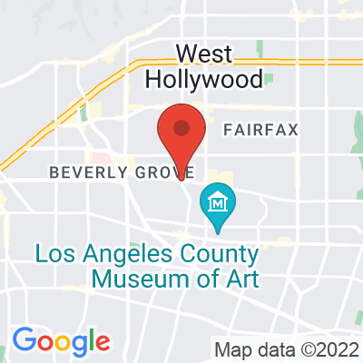 Map showing Bluestone Lane (West Hollywood)