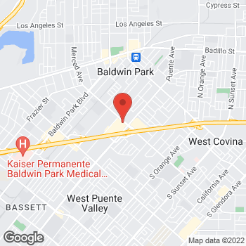 Map of Sprint at 14460 Merced Ave, Baldwin Park, CA 91706