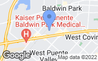 Map of Baldwin Park, CA