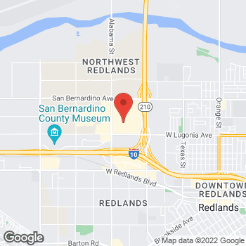 Map of Bed Bath & Beyond at 27450 West Lugonia Avenue, Redlands, CA 92374
