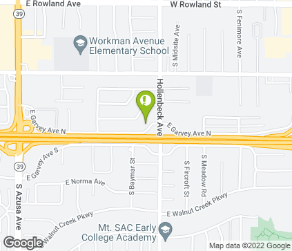 Map of 2149 E Garvey Ave N in West Covina