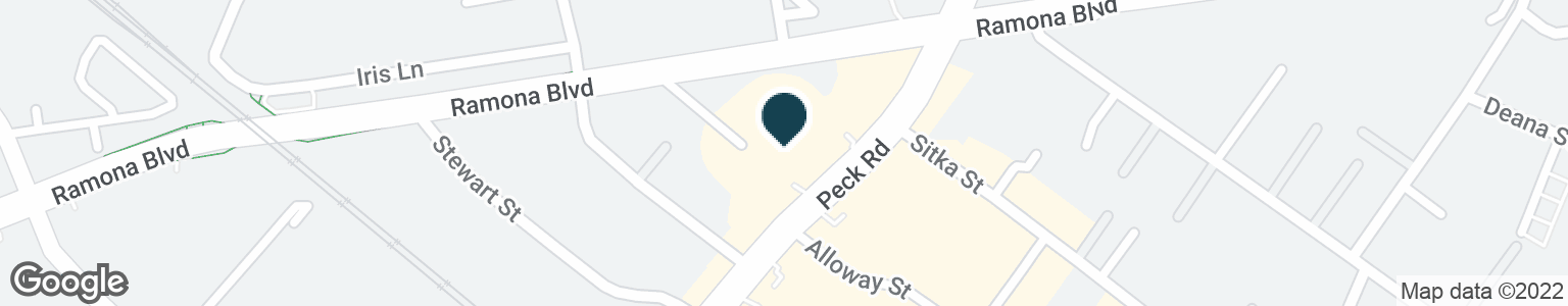 Google Map of3643 PECK RD