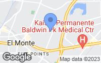 Map of El Monte, CA