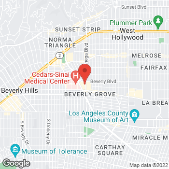 Map of Michael Kors at 8500 Beverly Blvd, Los Angeles, CA 90048