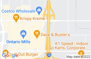 Ontario Mattress Store Location Map
