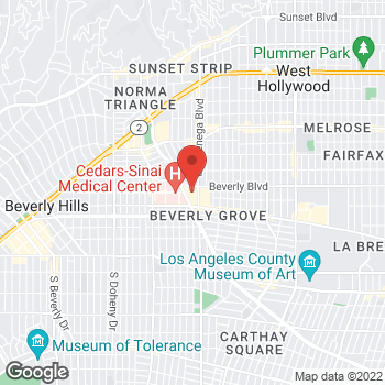 Map of BCBGeneration at Bloomingdales at 8500 Beverly Blvd, Los Angeles, CA 90048