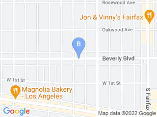 Map of Chateau Marmutt Dog Boarding options in Los Angeles | Boarding