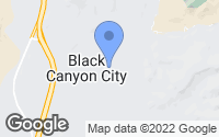Map of Black Canyon City, AZ