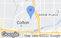 Map of Colton, CA