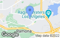 Map of San Dimas, CA