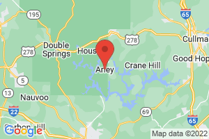 Map of Arley