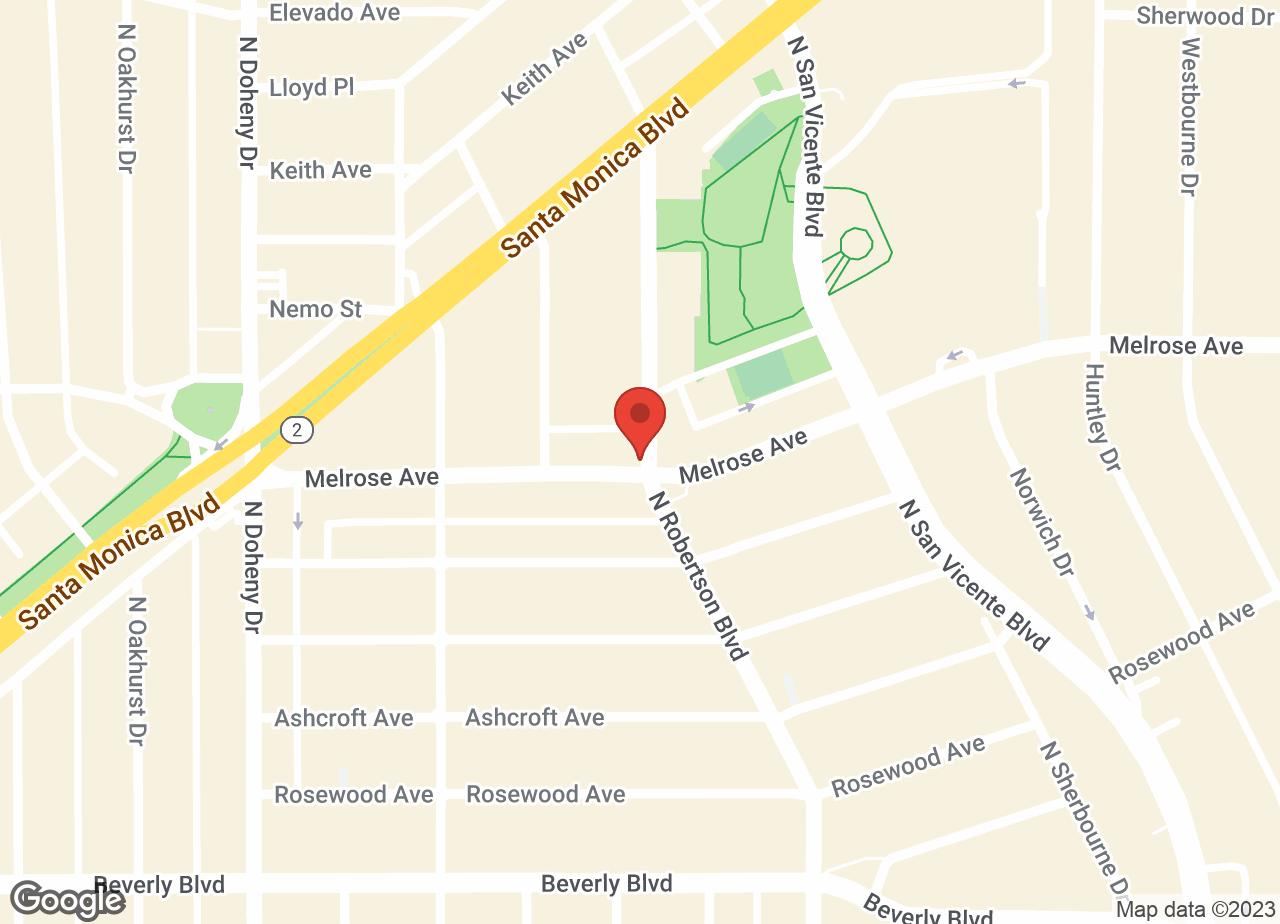 Google Map of VCA Miller-Robertson Animal Hospital