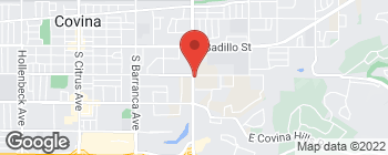 Map of 408 S Grand Ave in Covina