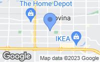 Map of Covina, CA