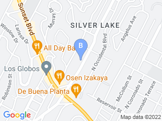 Map of Dog Camp LA Dog Boarding options in Silver Lake | Boarding