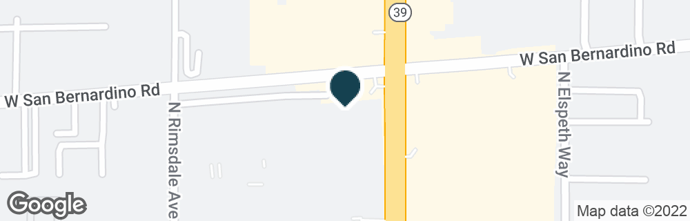 Google Map of401 N AZUSA AVE