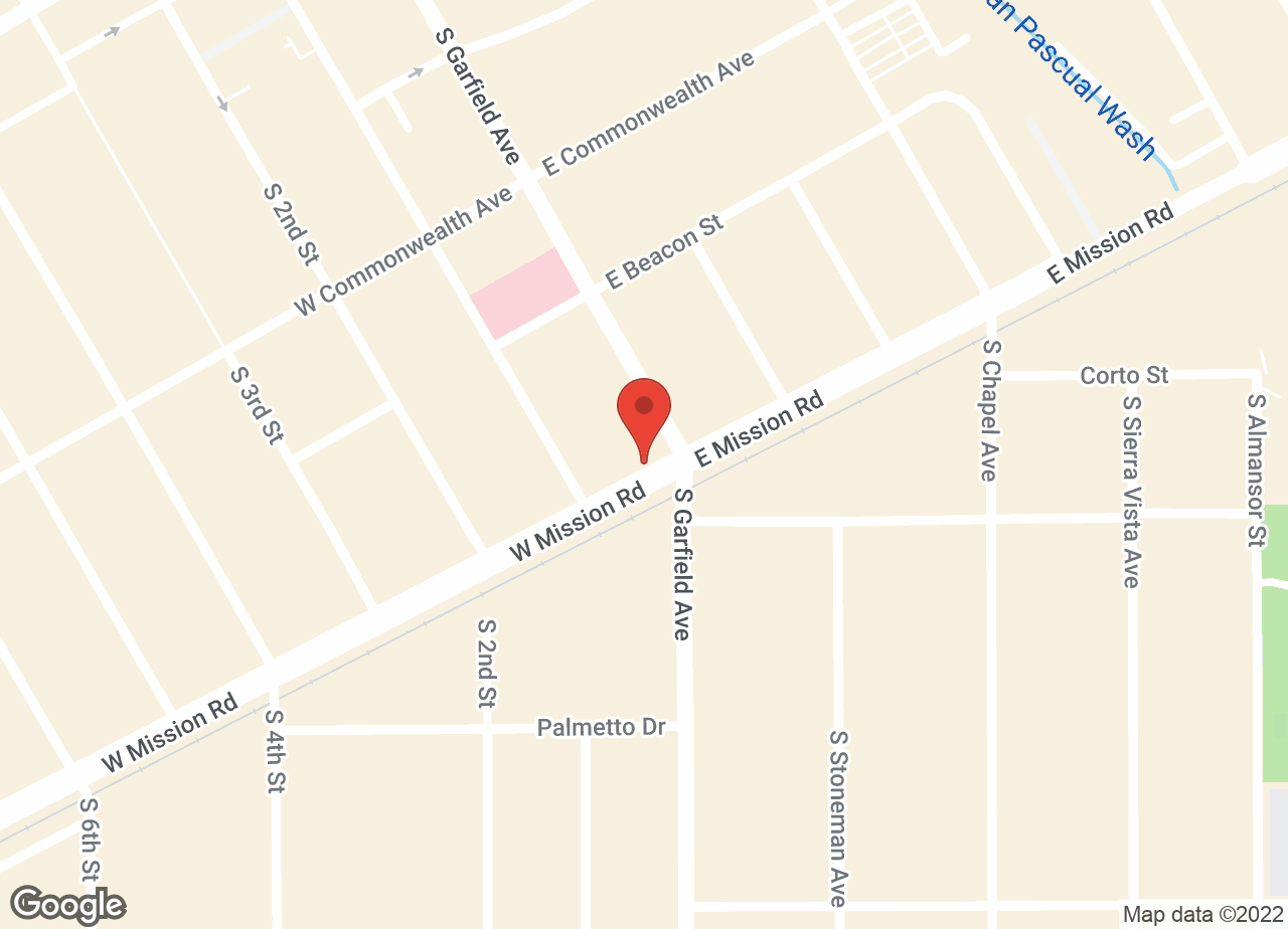 Google Map of VCA Mission Animal Hospital