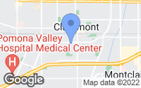 Map of Claremont, CA