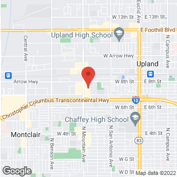 Map of Staples at 300 S Mountain Ave, Upland, CA 91786