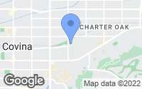 Map of Covina, CA