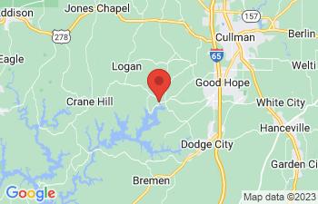 Map of Crane Hill
