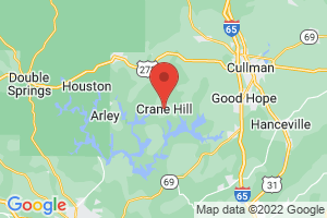 Map of Crane Hill