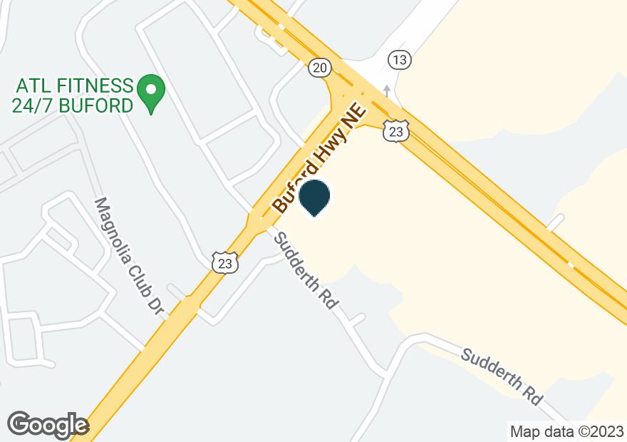 Google Map of4397 SUDDERTH RD