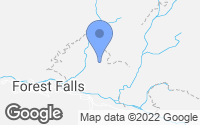 Map of Forest Falls, CA