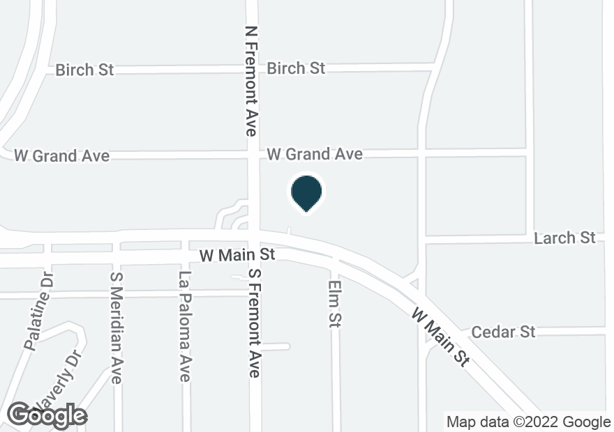 Google Map of2551 W MAIN ST