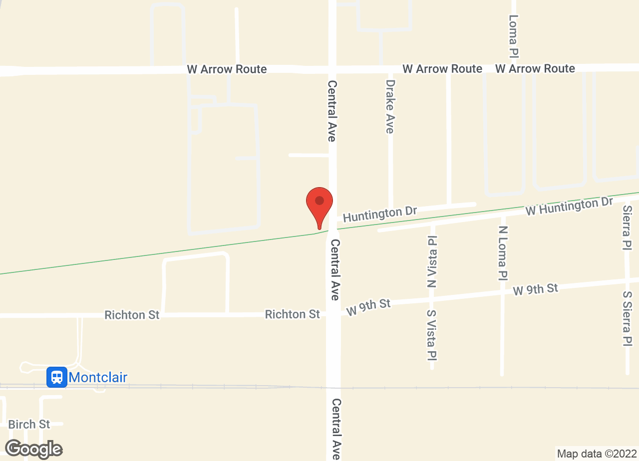Google Map of VCA Central Animal Hospital