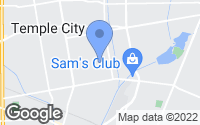 Map of Temple City, CA