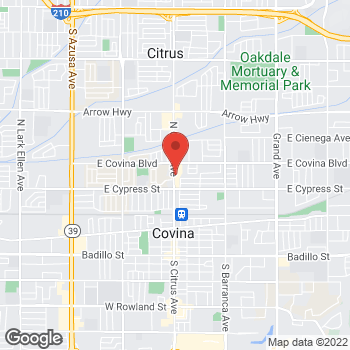 Map of Check `n Go Citrus Avenue at 1004 North Citrus Avenue, Covina, CA 91722