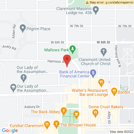Nichols Mark A CPA on Map (428 Harrison Ave, Claremont, CA 91711) Map