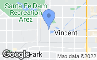 Map of Irwindale, CA