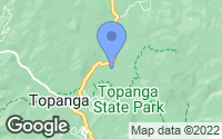 Map of Topanga, CA