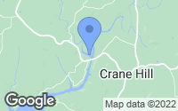 Map of Crane Hill, AL