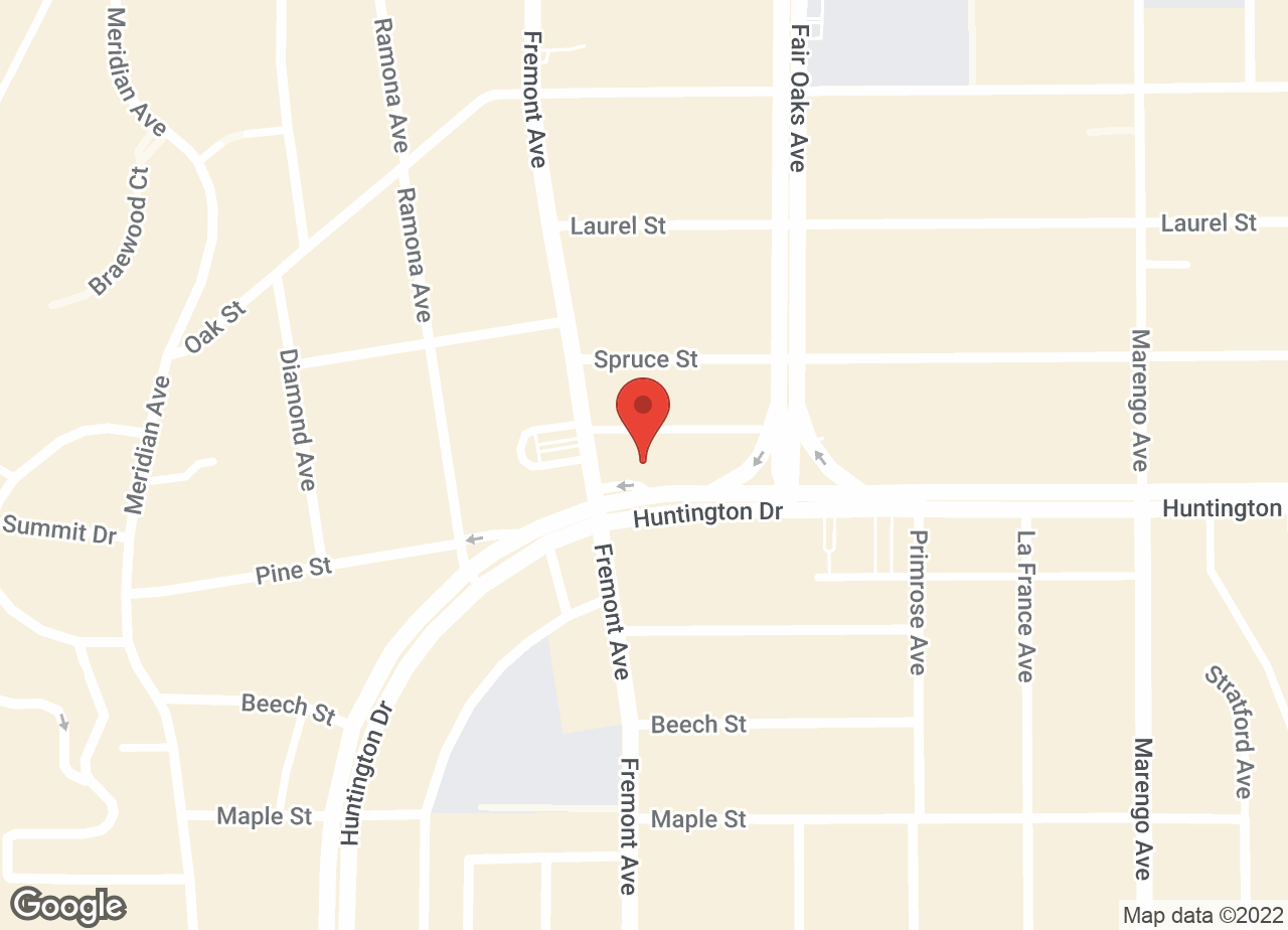 Google Map of VCA TLC Pasadena Veterinary Specialty and Emergency