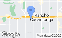 Map of Rancho Cucamonga, CA