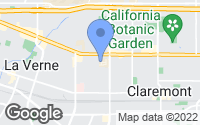 Map of Claremont, CA