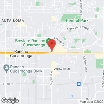 Map of Panera Bread at 8055 Haven Avenue, Rancho Cucamonga, California 91730