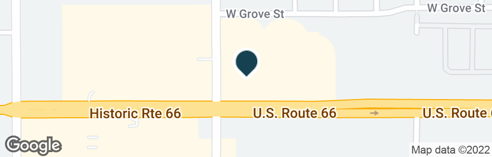 Google Map of1280 W FOOTHILL BLVD