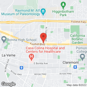 Map of Check `n Go at 625 East Foothill Boulevard, Pomona, CA 91767