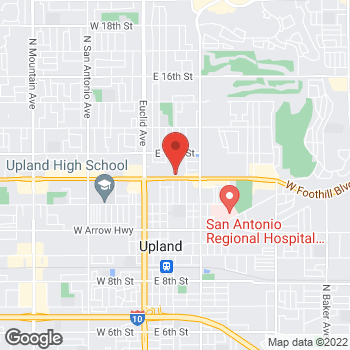 Map of Check `n Go Foothill Boulevard at 373 East Foothill Boulevard, Upland, CA 91786