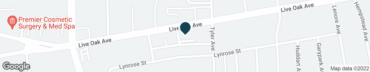 Google Map of140 E LIVE OAK AVE