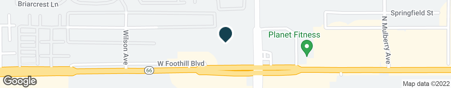 Google Map of1241 W FOOTHILL BLVD