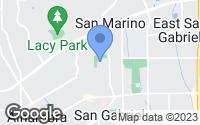 Map of San Gabriel, CA