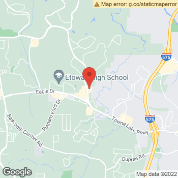 Map of Dr. Gregory Scott Wright at 2360 Towne Lake Parkway, Woodstock, GA 30189
